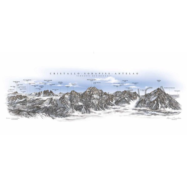 Cristallo - Sorapiss - Antelao